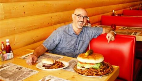 Kooky Canuck's 4-Pound Hamburger. Photo Credit: Eli Cloud