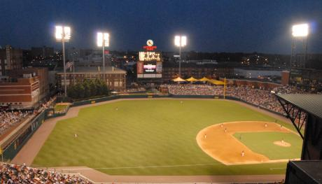 AutoZone Park field. Photo Credit: Allison Rhoades