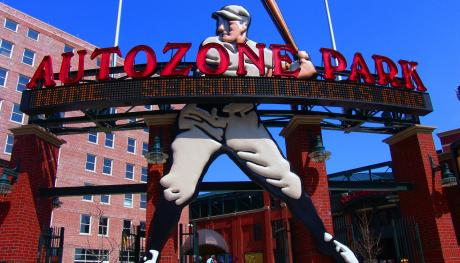 AutoZone Park. Photo Credit: Michael Allen Photography