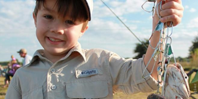 Fishing rodeos delight the whole family at Agricenter International. Photo by Sue Sigler.