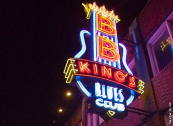 Authentic Memphis music served with Southern dishes at B.B. King's Blues Club. Photo by Vasha Hunt