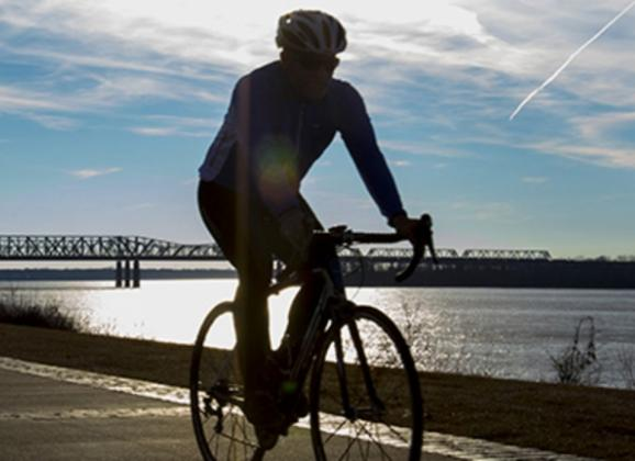 Cycling in Downtown Memphis. Photo by Craig Brewer.