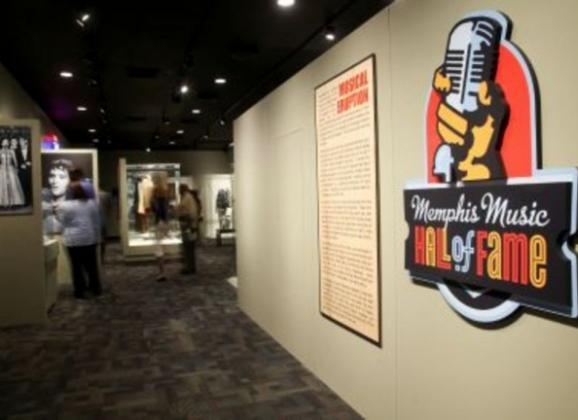 Check out the Memphis Music Hall of Fame. Photo by Troy Glasgow