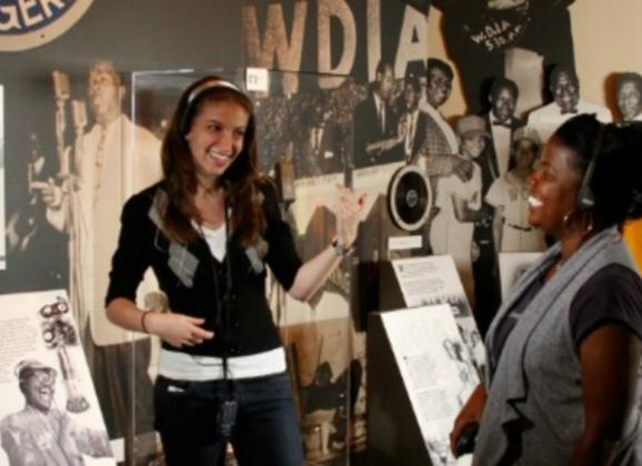 Explore the history of WDIA radio. Photo by Justin Fox Burks.