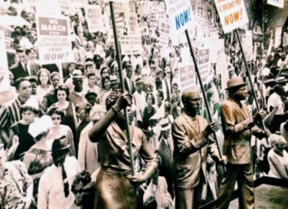 March on Washington exhibit at National Civil Rights Museum. Photo by Memphis CVB