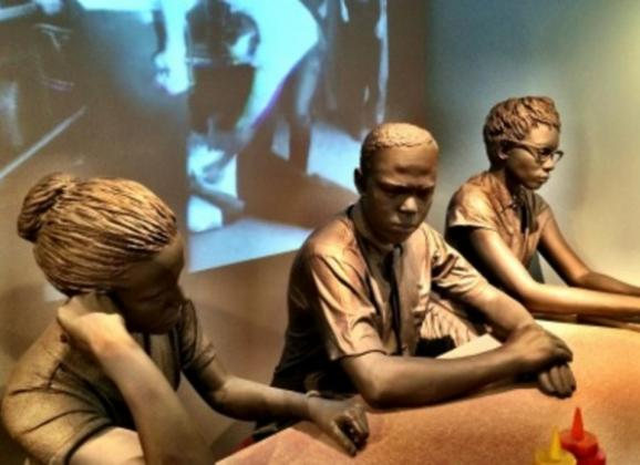 Experience sit-ins during the Civil Rights Movement in America at the National Civil Rights Museum. Photo by Memphis CVB