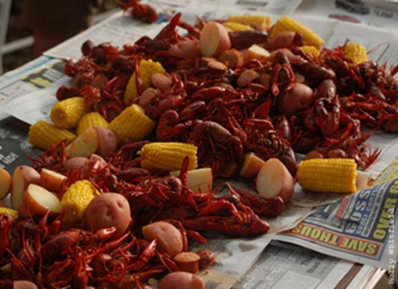 Great food and fun at the Rajun Cajun Crawfish Festival. Photo by Holly Whitfield.