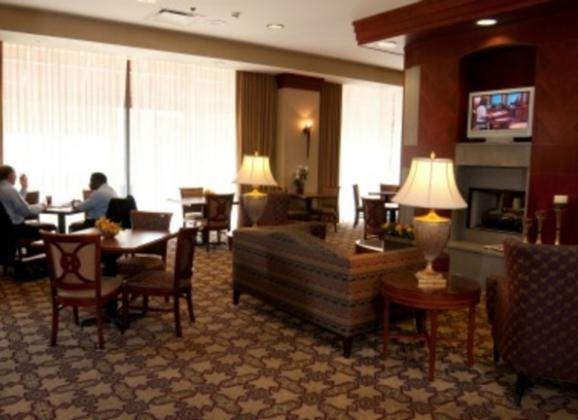 Lounge at Residence Inn in Downtown Memphis. Photo by Steve Roberts.