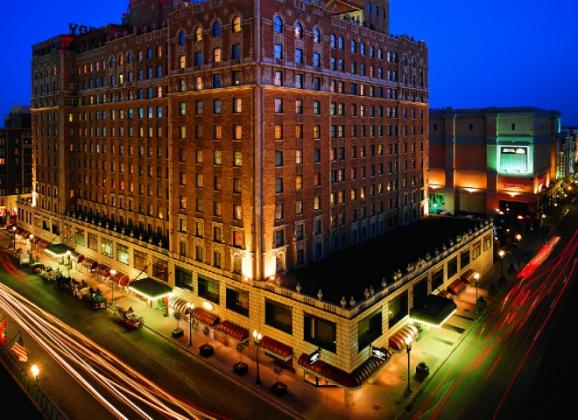 The Peabody Memphis in Downtown Memphis. Photo courtesy of The Peabody Memphis.