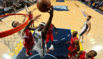 Zach Randolph of Memphis Grizzlies - Joe Murphy/NBAE/Getty Images