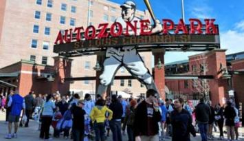 AutoZone Park voted as one of the top 10 minor league park. Photo by Andrea Zucker.