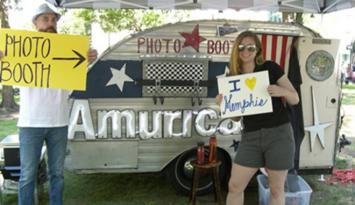 Add fun to your next event with Amurica Photo Booth. Photo by Caroline Stanfield.