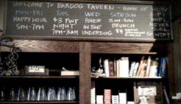 Bardog Board. Photo by Kerry Crawford.