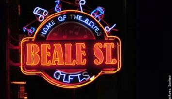 You're one-stop souvenir stop on Beale. Photo by Andrea Zucker.