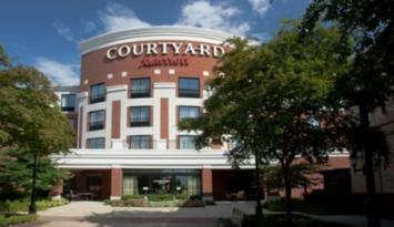 Courtyard by Marriott in Memphis. Photo by Tim Irby.
