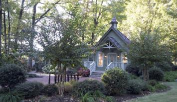 Graceland's Chapel in the Woods. Photo: EPE.