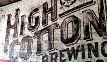 High Cotton Brewery and Tap Room in Downtown Memphis. Photo by Holly Whitfield.