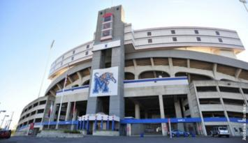Liberty Bowl Memorial Stadium. Photo by Andrea Zucker.
