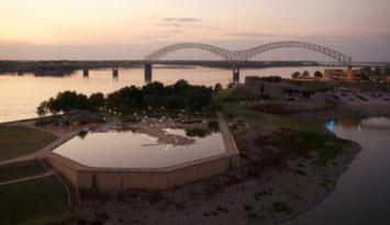 Mud Island is home to Mud Island Marina. Photo by Jack Kenner.