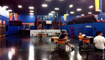 Sky Zone - an indoor trampoline park. Photo by Kerry Crawford.