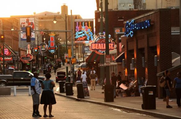 Beale Street looking West