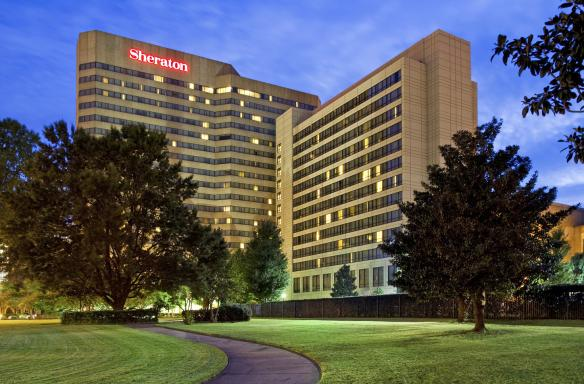 Sheraton Exterior - Dusk: Starwood Hotels and Resorts