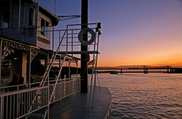 Riverboat on the Mississippi River. Photo Credit: Amie Vanderford